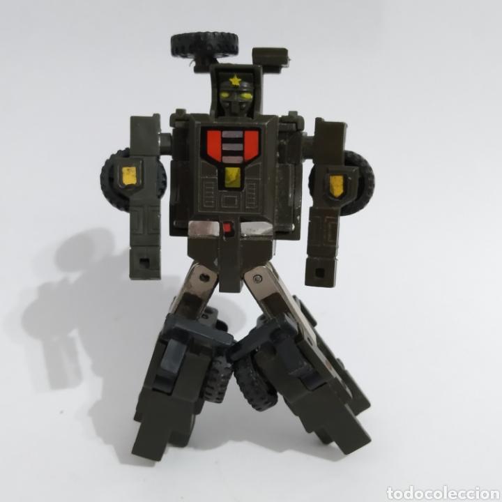 Figuras y Muñecos Transformers: Jeep MR-28 Geeper Creeper Renegade Gobots de Bandai, año 1983 - Foto 2 - 216715103
