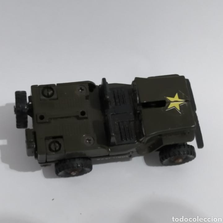 Figuras y Muñecos Transformers: Jeep MR-28 Geeper Creeper Renegade Gobots de Bandai, año 1983 - Foto 3 - 216715103