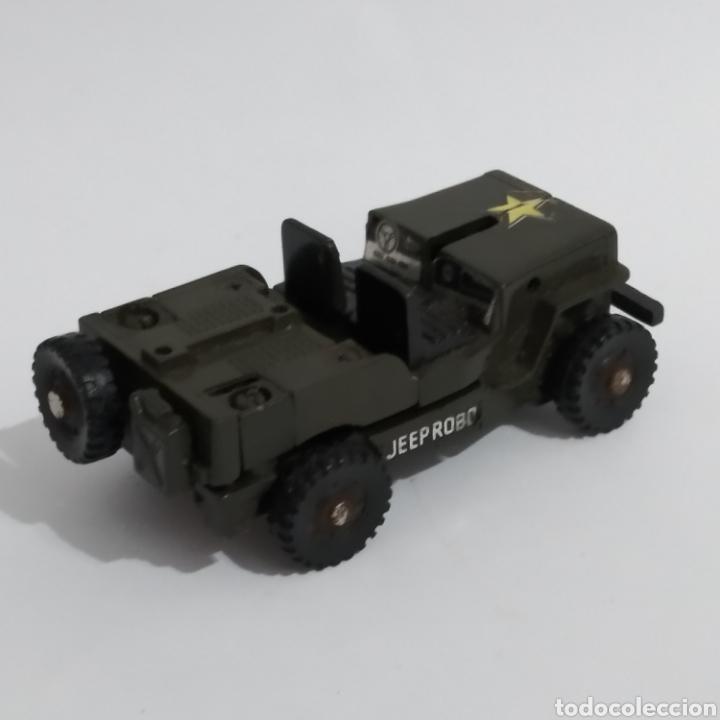 Figuras y Muñecos Transformers: Jeep MR-28 Geeper Creeper Renegade Gobots de Bandai, año 1983 - Foto 4 - 216715103