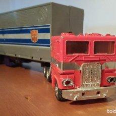 Figuras y Muñecos Transformers: TRANSFORMERS G1 OPTIMUS PRIME, HASBRO AÑOS 80, CAMION + ROBOT. Lote 217159596