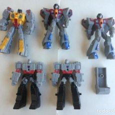 Figuras y Muñecos Transformers: LOTE 5 MUÑECOS TRANSFORMERS MCDONALDS - LOS DE LAS FOTOS. Lote 217651206