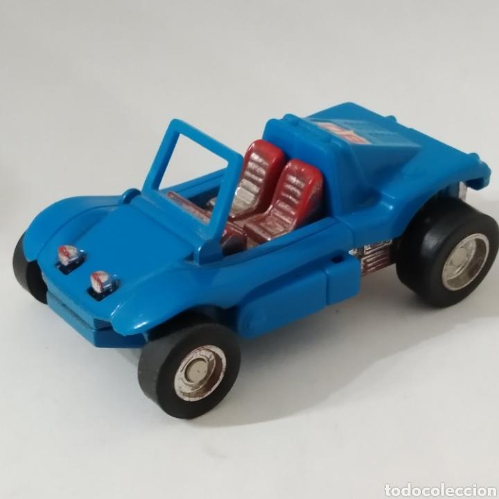 ESCASO BUGUI TRANSFORMER REFERENCIA ROBO MR-08 POPY BLUE FABRICADO EL 1982 EN JAPÓN, BUGGY (Juguetes - Figuras de Acción - Transformers)