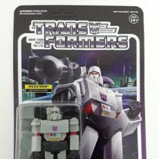 Figuras y Muñecos Transformers: FIGURA MEGATRON TRANSFORMERS REACTION SUPER7. Lote 217909865