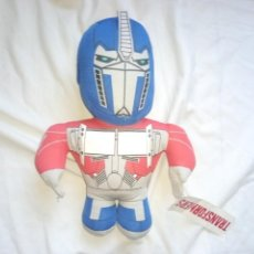 Figuras y Muñecos Transformers: PELUCHE OPTIMUS PRIME HASBRO CON ETIQUETA TRANSFORMERS. Lote 218174390