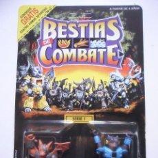 Figuras y Muñecos Transformers: BESTIAS DE COMBATE BATTLE BEASTS BLITZKRIEG BAT & GRIZZLY BEAR TAKARA HASBRO 1986. Lote 218665763