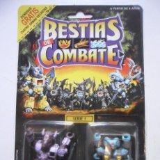 Figuras y Muñecos Transformers: BESTIAS DE COMBATE BATTLE BEASTS BLOODTHIRSTY BISON & BIGHORN SHEEP TAKARA HASBRO 1986. Lote 218666200