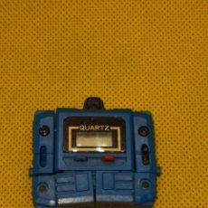 Figuras y Muñecos Transformers: RELOJ TRANSFORMERS TRANSFORMER - ROBOT RELOJ - QUARTZ - AÑOS 80 COLOR AZUL. Lote 219453517
