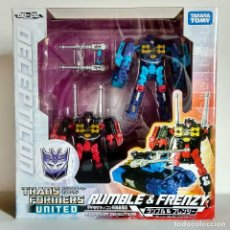 Figuras y Muñecos Transformers: TRANSFORMERS UNITED UN20: FRENZY & RUMBLE - TAKARA TOMY 2010, 100% COMPLETO. Lote 219500577