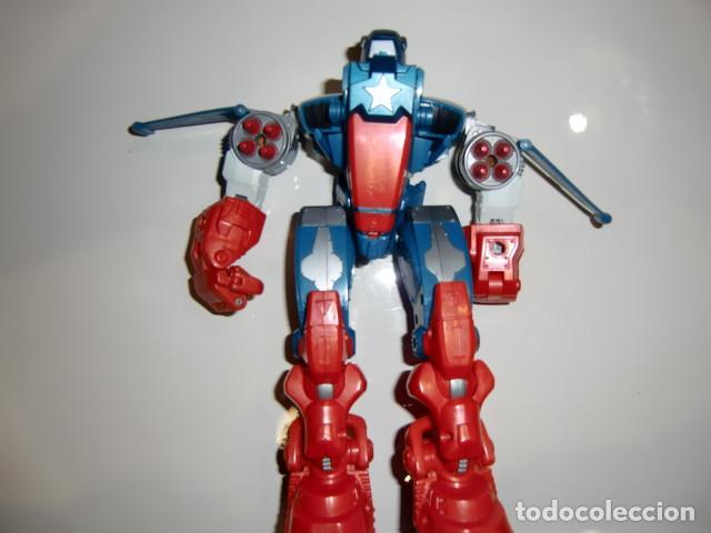 Figuras y Muñecos Transformers: transformer figura tipo transformer tamaño aprox 24 cms - Foto 3 - 220295986