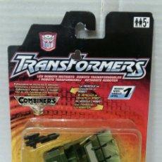 Figuras y Muñecos Transformers: TRANSFORMERS ROLLBAR. COMBINERS. NUEVO EN BLISTER. HASBRO. 2001. NIVEL 1. AUTOBOTS.. Lote 220624632