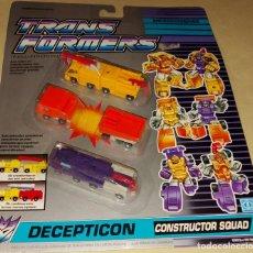 Figuras y Muñecos Transformers: TRANSFORMERS DECEPTICON CONSTRUCTOR SQUAD. Lote 221282698