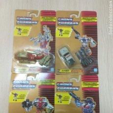 Figuras y Muñecos Transformers: LOTE TRANSFORMERS ORIGINALES AÑOS 90. 4 AUTOBOT. EN SUS BLISTERS. REF 1. Lote 221447523