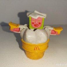 Figuras y Muñecos Transformers: MCTRANSFORMERS : ANTIGUO TRANSFORMER ROBOT TURBO CONE HELADO - PROMOCION MCDONALD´S AÑOS 1988. Lote 221643721