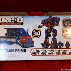 Figuras y Muñecos Transformers: KRE-O TRANSFORMERS 3 EN 1. OPTIMUS PRIME. DESCONOZCO SI ESTÁ COMPLETO!!! HASBRO.. Lote 221666897