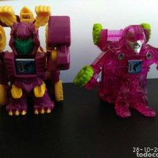Figuras y Muñecos Transformers: TRANSFORMERS, DOS UNIDADES. Lote 222534060