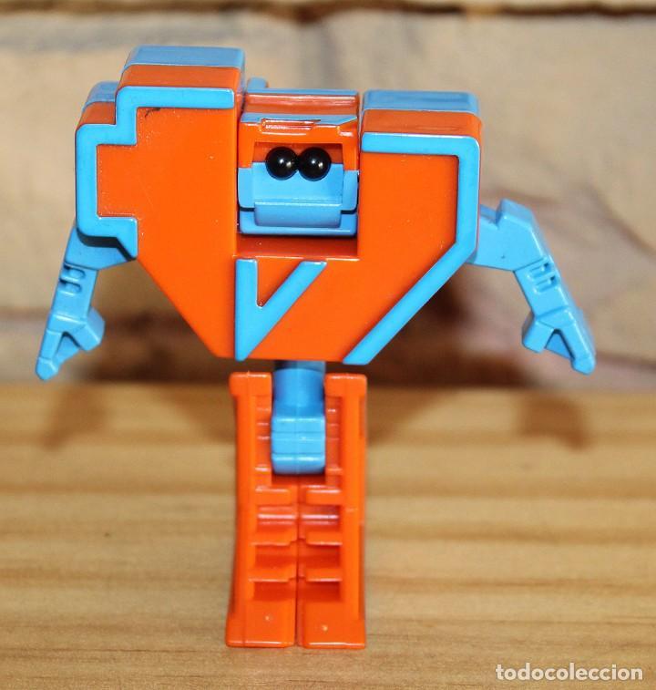 Figuras y Muñecos Transformers: NUMEROBOTS - ROBOT TRANSFORMABLE - NUMERO 4 - RIMA - EN SU CAJA ORIGINAL - AÑOS 80 - Foto 2 - 222798490