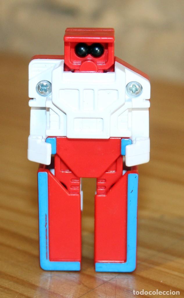 Figuras y Muñecos Transformers: NUMEROBOTS - ROBOT TRANSFORMABLE - NUMERO 1 - RIMA - EN SU CAJA ORIGINAL - AÑOS 80 - Foto 4 - 222798662