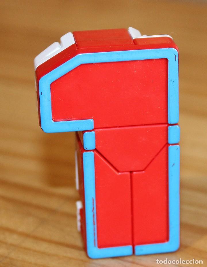 Figuras y Muñecos Transformers: NUMEROBOTS - ROBOT TRANSFORMABLE - NUMERO 1 - RIMA - EN SU CAJA ORIGINAL - AÑOS 80 - Foto 5 - 222798662