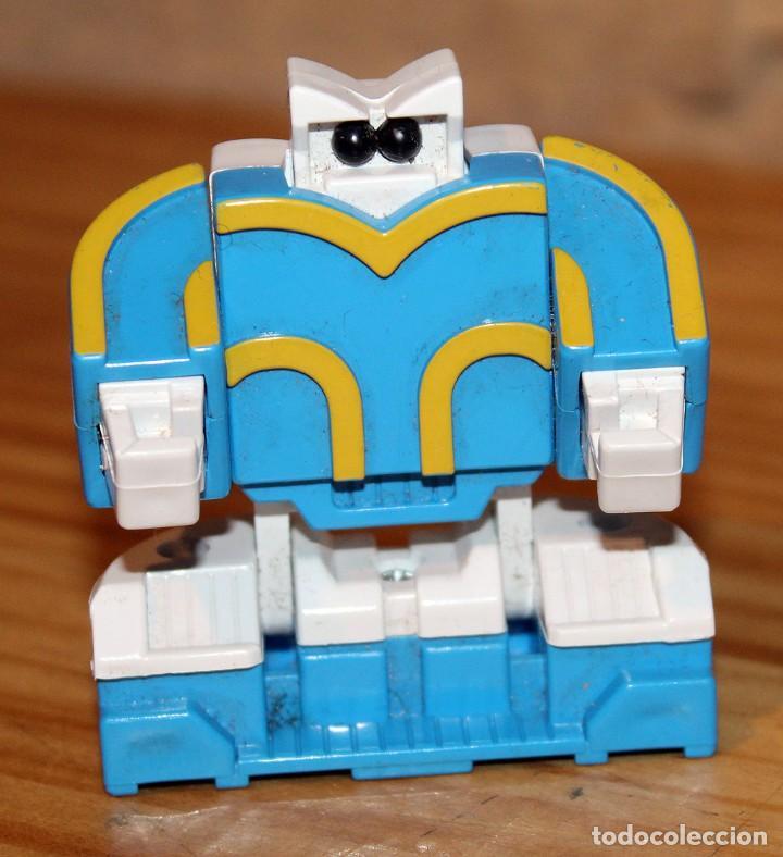 Figuras y Muñecos Transformers: NUMEROBOTS - ROBOT TRANSFORMABLE - NUMERO 3 - RIMA - EN SU CAJA ORIGINAL - AÑOS 80 - Foto 4 - 222798710