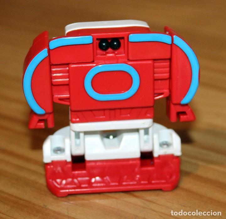 Figuras y Muñecos Transformers: NUMEROBOTS - ROBOT TRANSFORMABLE - NUMERO 8 - RIMA - EN SU CAJA ORIGINAL - AÑOS 80 - Foto 3 - 222798761