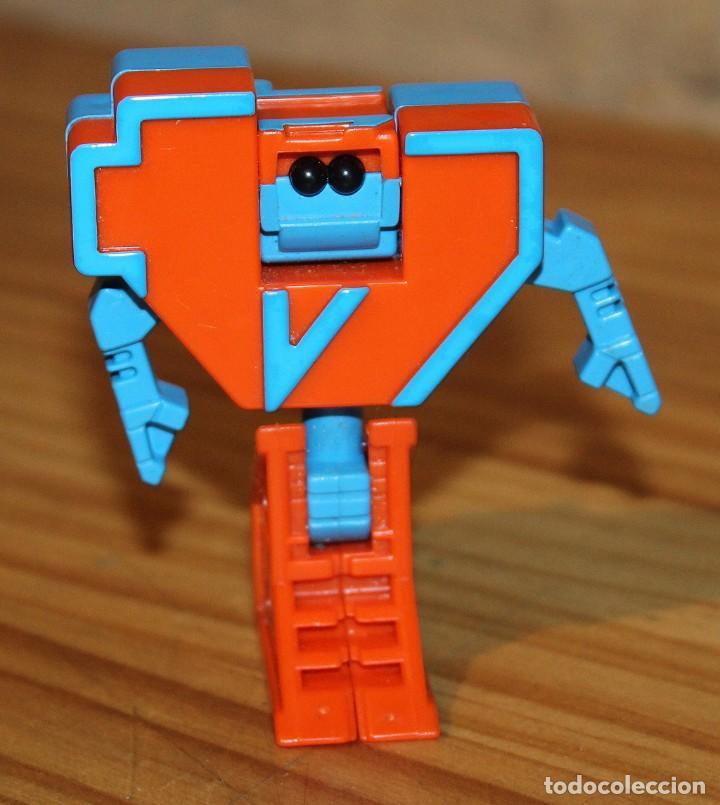 Figuras y Muñecos Transformers: NUMEROBOTS - ROBOT TRANSFORMABLE - NUMERO 4 - RIMA - EN SU CAJA ORIGINAL - AÑOS 80 - Foto 3 - 222798828