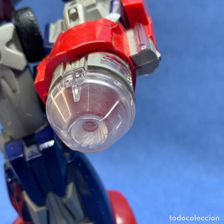 Figuras y Muñecos Transformers: FIGURA TRANSFORMERS - OPTIMUS PRIME - HASBRO - AÑO 2006 - 29 CM - FUNCIONA LA LUZ Y EL SONIDO - Foto 4 - 223131066