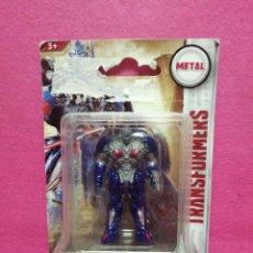 Figuras y Muñecos Transformers: MUÑECO TRANSFORMERS DE METAL SE HACE CAMION HASBRO EN SU CAJA PRECINTADO. Lote 224810132