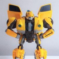 Figuras y Muñecos Transformers: FIGURA TRANSFORMERS AUTOBOT BUMBLEBEE POWER CHARGE DE LA PELÍCULA HOMÓNIMA CON LUCES Y SONIDO. Lote 224829907