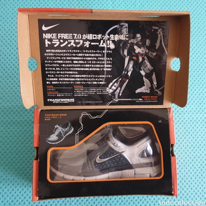 Figuras y Muñecos Transformers: Nike free 7.0 Transformers Megatron Takara Tomy - Foto 2 - 225790058