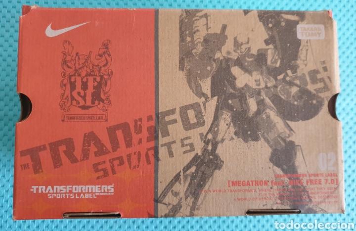 Figuras y Muñecos Transformers: Nike free 7.0 Transformers Megatron Takara Tomy - Foto 3 - 225790058