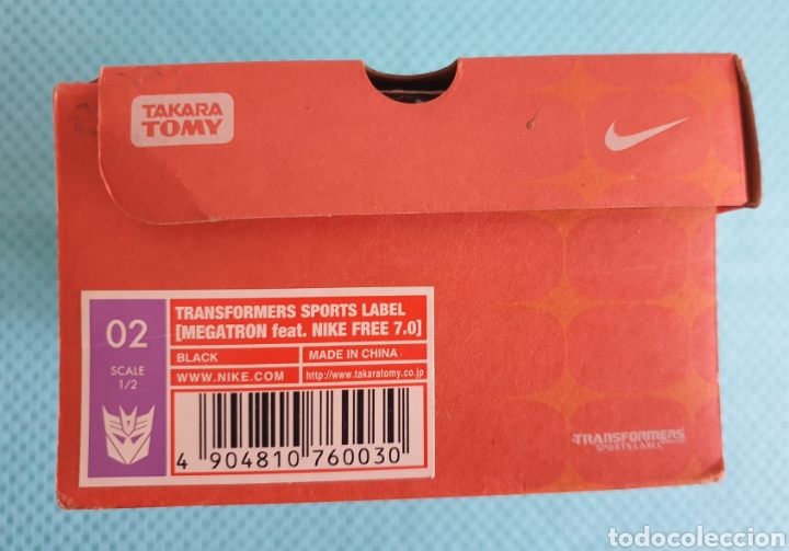 Figuras y Muñecos Transformers: Nike free 7.0 Transformers Megatron Takara Tomy - Foto 5 - 225790058