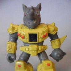 Figuras y Muñecos Transformers: BESTIAS DE COMBATE BATTLE BEASTS ROCKY RHINO TAKARA HASBRO 1986. Lote 226039535