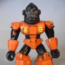Figuras y Muñecos Transformers: BATTLE BEASTS BESTIAS DE COMBATE VIBRANT RED GARGANTUAN GORILLA VARIANTE ESPAÑOLA TAKARA HASBRO 1986. Lote 226056105