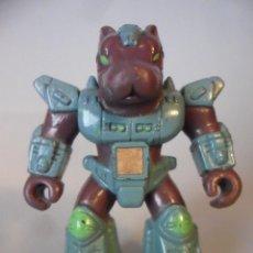 Figuras y Muñecos Transformers: BATTLE BEASTS BESTIAS DE COMBATE PURPLE DANGER DOG VARIANTE ESPAÑOLA TAKARA HASBRO 1986. Lote 226058641