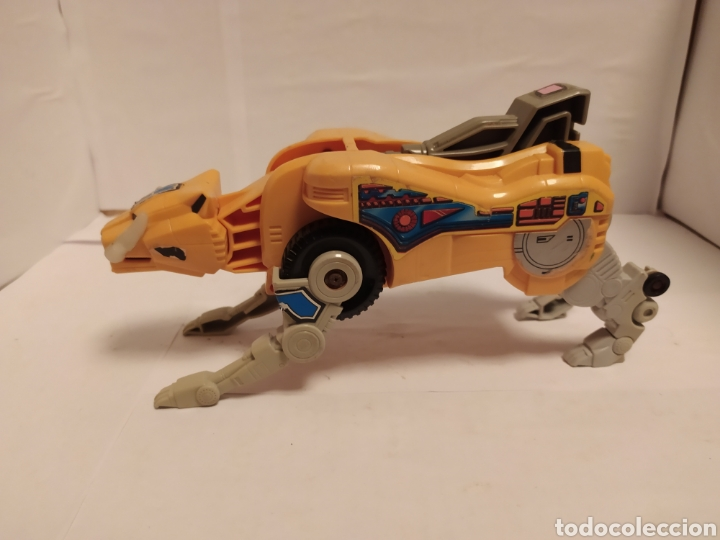 Figuras y Muñecos Transformers: Transformers Tigre amarillo - Foto 3 - 228777965