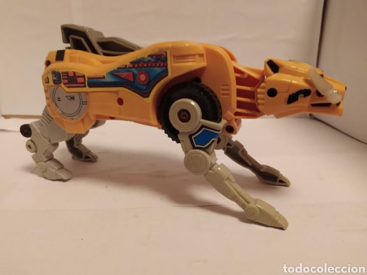 TRANSFORMERS TIGRE AMARILLO (Juguetes - Figuras de Acción - Transformers)