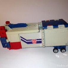 Figuras y Muñecos Transformers: TRANSFORMERS HASBRO TAKARA – OPTIMUS PRIME POWERMASTERS 1987 – TRAILER. Lote 230580535