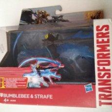 Figuras y Muñecos Transformers: TRANSFORMERS BUMBLEBEE STRAFE BUMBLEBEE & STRAFE CAJA.. Lote 231854860