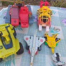Figuras y Muñecos Transformers: COCHES Y NAVES DE GUERRA GIJOE Y TRANSFORMES. Lote 232027315