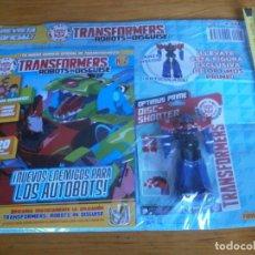 Figuras y Muñecos Transformers: REVISTA OFICIAL DE TRANSFORMERS, CON FIGURA EXCLUSIVA DE OPTIMUS PRIME (NUNCA ABIERTO). Lote 232429610