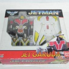 Figuras y Muñecos Transformers: ANTIGUO ROBOT TRANSFORMERS JET GARUDA DE BANDAI NUEVO EN SU CAJA. Lote 234328055
