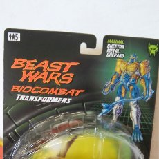 Figure e Bambolotti Transformers: BEAST WARS BIOCOMBAT TRANSFORMERS TRANSMETALS.MAXIMAL GHEPARD.HASBRO 1998.SIN ABRIR.. Lote 248070435