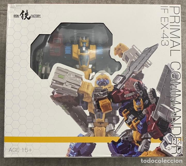 TRANSFORMERS IRON FACTORY, EX-43 ( OPTIMAL OPTIMUS ) (Juguetes - Figuras de Acción - Transformers)