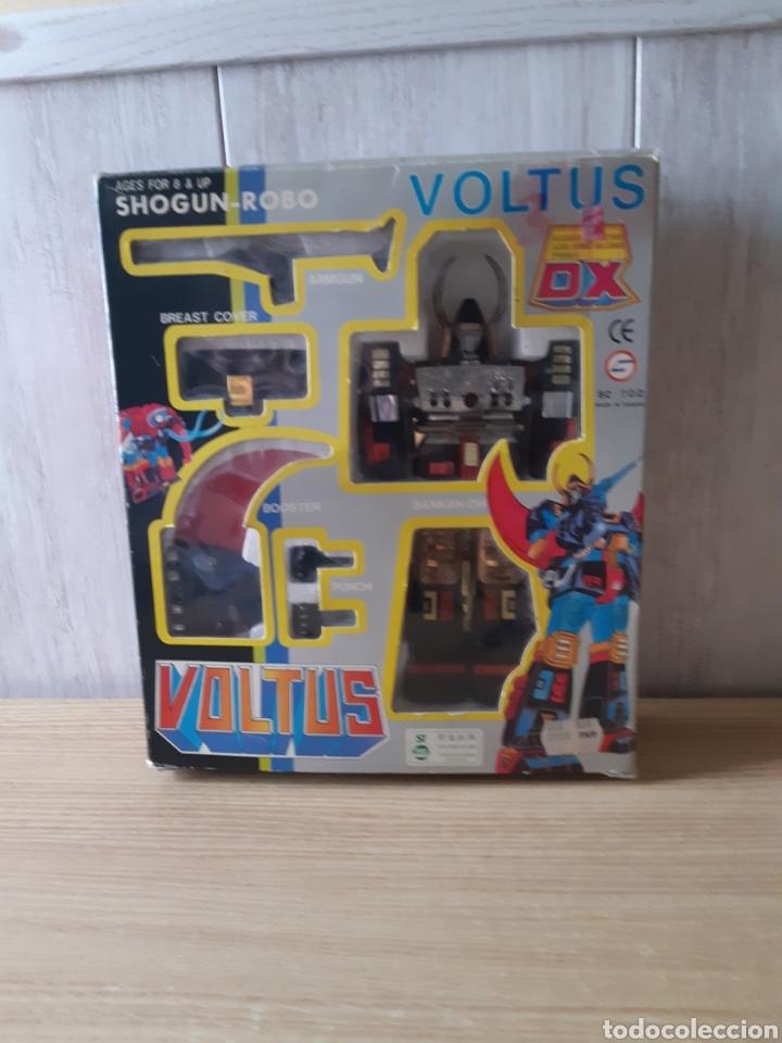ROBOT VOLTUS DX SHOGUN ROBOCON CAJA Y SIN USAR AÑOS 80 (Juguetes - Figuras de Acción - Transformers)
