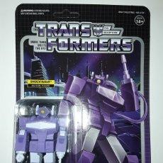 Figuras y Muñecos Transformers: FIGURA SHOCKWAVE TRANSFORMERS WAVE 2 REACTION SUPER7. Lote 237437330