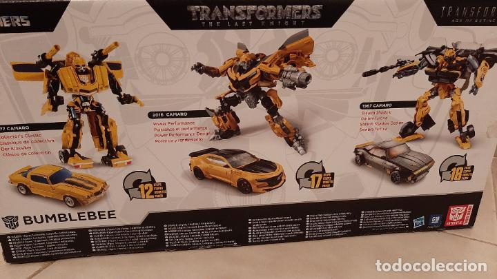 Figuras y Muñecos Transformers: TRANSFORMERS BUMBLEBEE TRIBUTE HIVE COCHE CHEVROLET CAMARO TRIO 1967 1977 2016 HASBRO - Foto 10 - 237561340