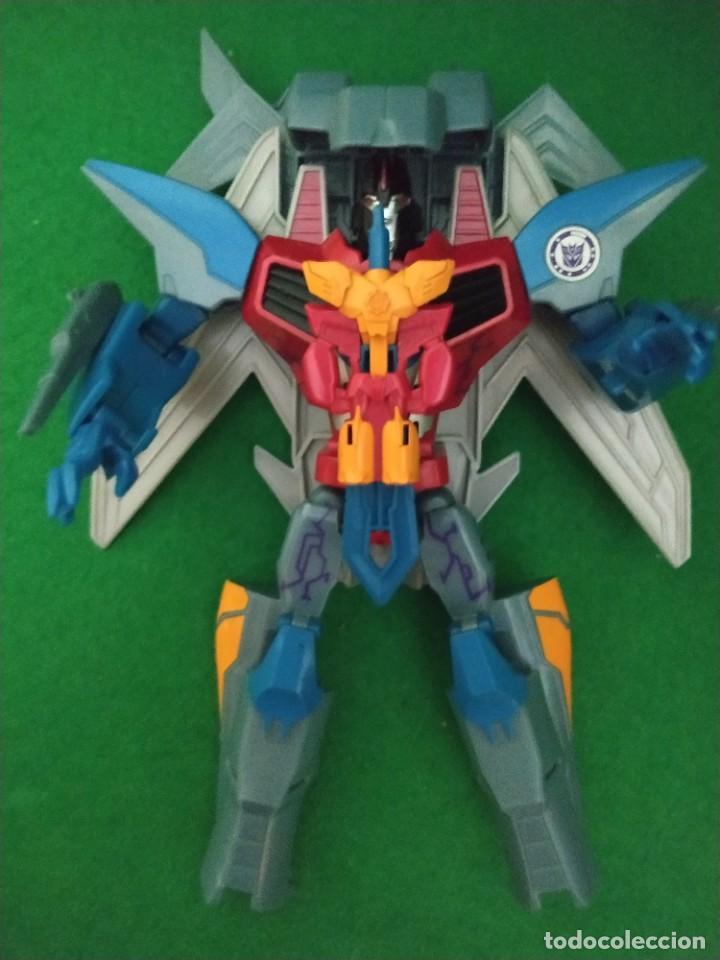 Figuras y Muñecos Transformers: Starscream & Mini-Con Lancelon Disguise Power Surge 2016 - Foto 3 - 238348810