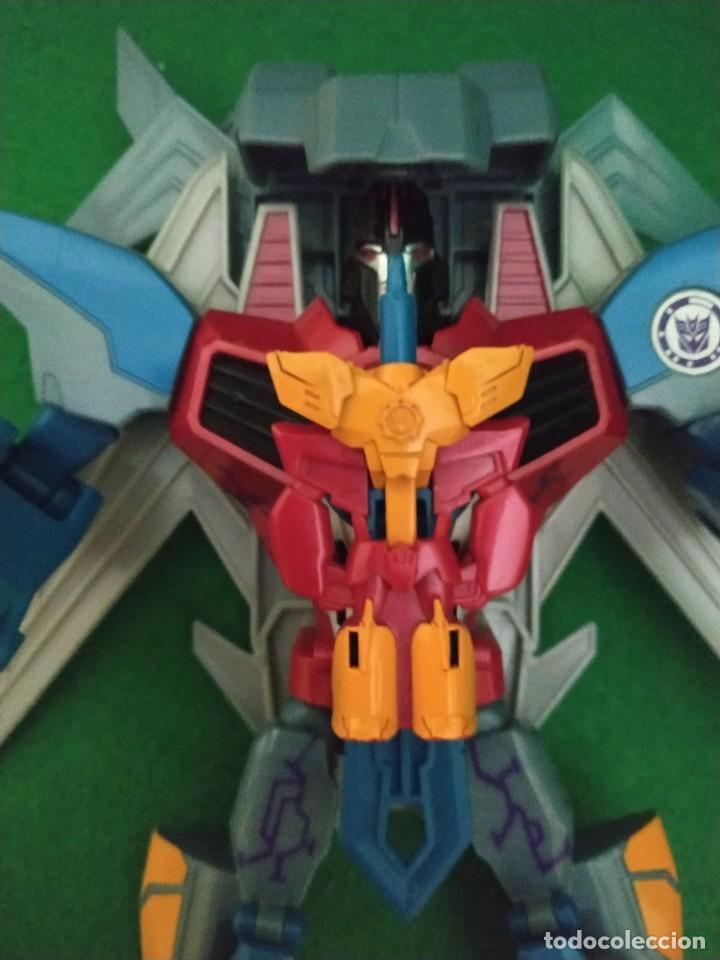 Figuras y Muñecos Transformers: Starscream & Mini-Con Lancelon Disguise Power Surge 2016 - Foto 4 - 238348810