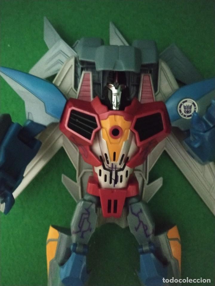Figuras y Muñecos Transformers: Starscream & Mini-Con Lancelon Disguise Power Surge 2016 - Foto 5 - 238348810