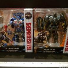 Figuras y Muñecos Transformers: LOTE 2 FIGURAS TRANSFORMERS MEGATRON / OPTIMUS PRIME TRANSFORMERS THE LAST KNIGHT PREMIER EDITION. Lote 239412465